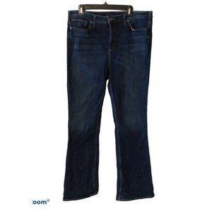 Silver Mazy Bootcut Jeans Size 18, 33L